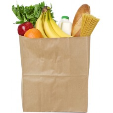 Bag of Groceries Cardboard Cutout