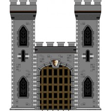 Medieval Style Castle Cardboard Cutout