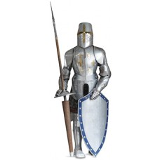 Suit Of Armor Cardboard Cutout