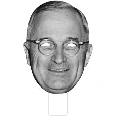 FKB25033 Harry S Truman Cardboard Mask
