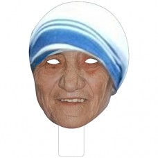 FKB48002 Mother Teresa Cardboard Mask