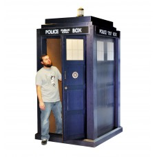 3D Lifesize Tardis Doctor Who