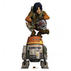 Ezra and Chopper (Star Wars Rebels)