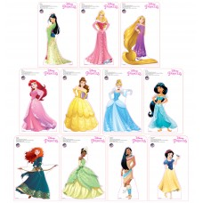 Mini Disney Princesses Standees 2016 (11 pack)