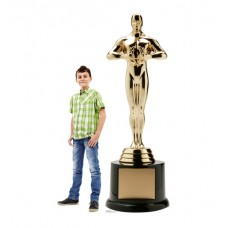 Trophy Award Standup with Base