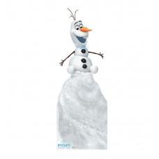 Olaf on Snow Mound Disneys Olafs Frozen Adventure