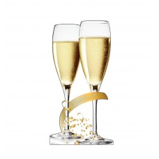Celebrate Champagne Glasses