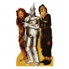 Lion Tinman, and Scarecrow Wizard of Oz