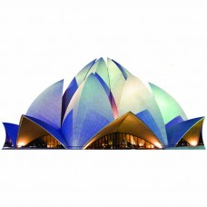 Bahai Lotus Temple Night