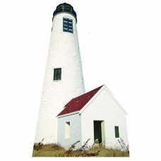Great Point Lighthouse Cardboard Cutout