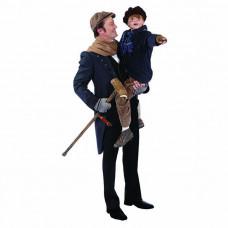 Tiny Tim and Bob Cratchit