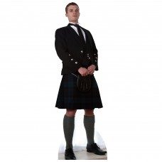 Scottish Man In Kilt