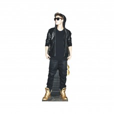 Justin Bieber Gold Shoes