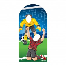 Adult Football Soccer Stand In