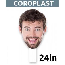 "24"" Personalized Coroplast Big Head"